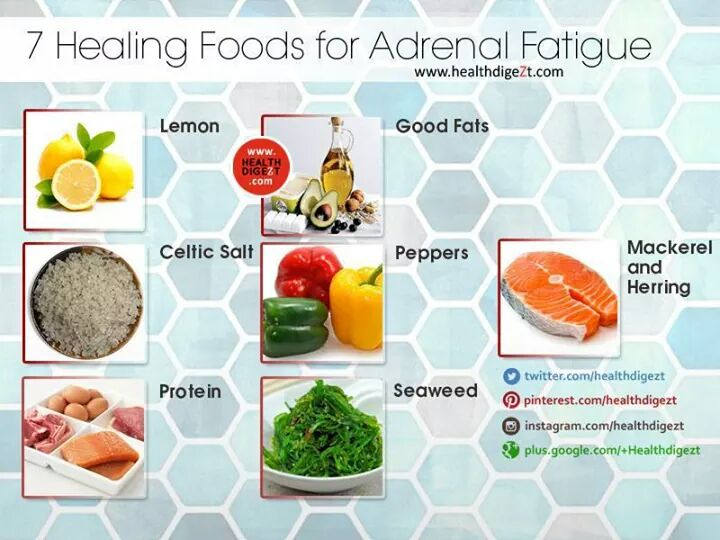 7 healing foods for adrenal fatigue royale store manila for Cuisine for healing