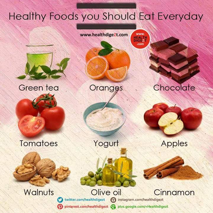 Best Healthy Foods To Eat Everyday