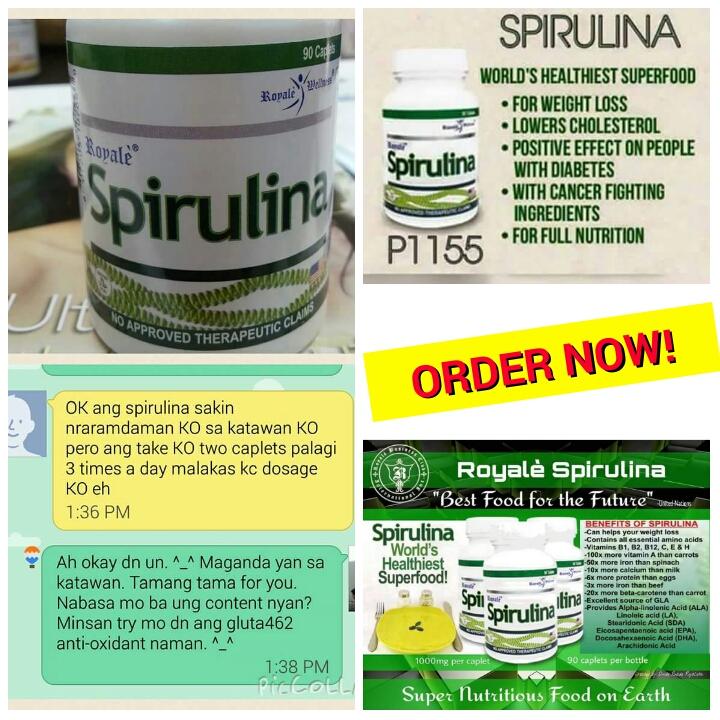 Spirulina – world's healthiest superfood   Royale Store Manila